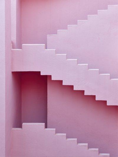 Pastel-pink-stairway
